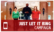 Just Let it Ring Campaign