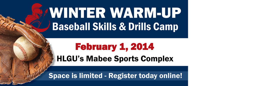 Winter Warm-Up Baseball Skills and Drills Camp