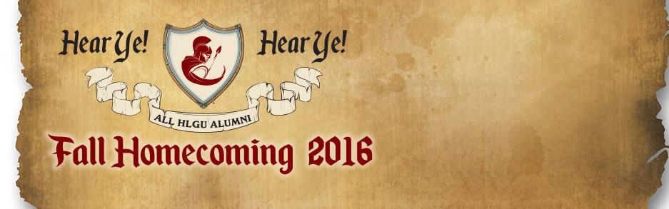 2016 Fall Homecoming