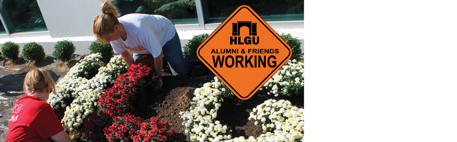 HLGU Annual Alumni and Friends Work Day