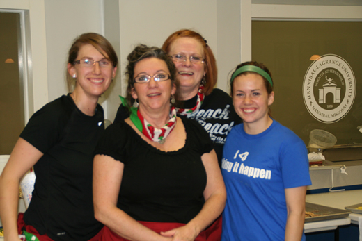 Cindy Hammock, Betty Anderson, Kelli Boling, Sarah Hammock | Team Spicy Mammas