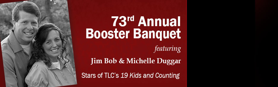 Duggars to Speak at HLGU's 73rd Annual Booster Banquet