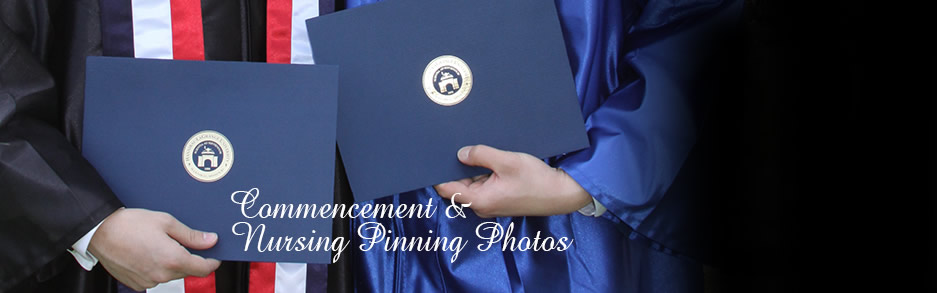View HLGU Commencement and Nursing Pinning Photos